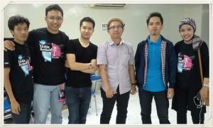 Bareng Band Indie  B.I.O Bandung