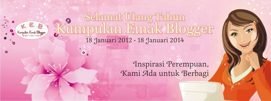 2nd bday Kumpulan Emak Blogger