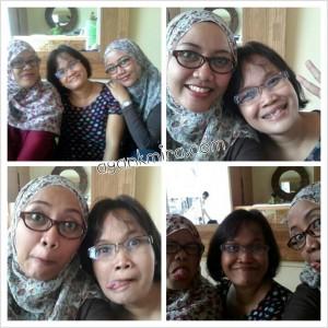 Mak Indah, Mira dan Mak Carra