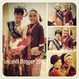 Bersama Srikandi Blogger 2014 terpilih