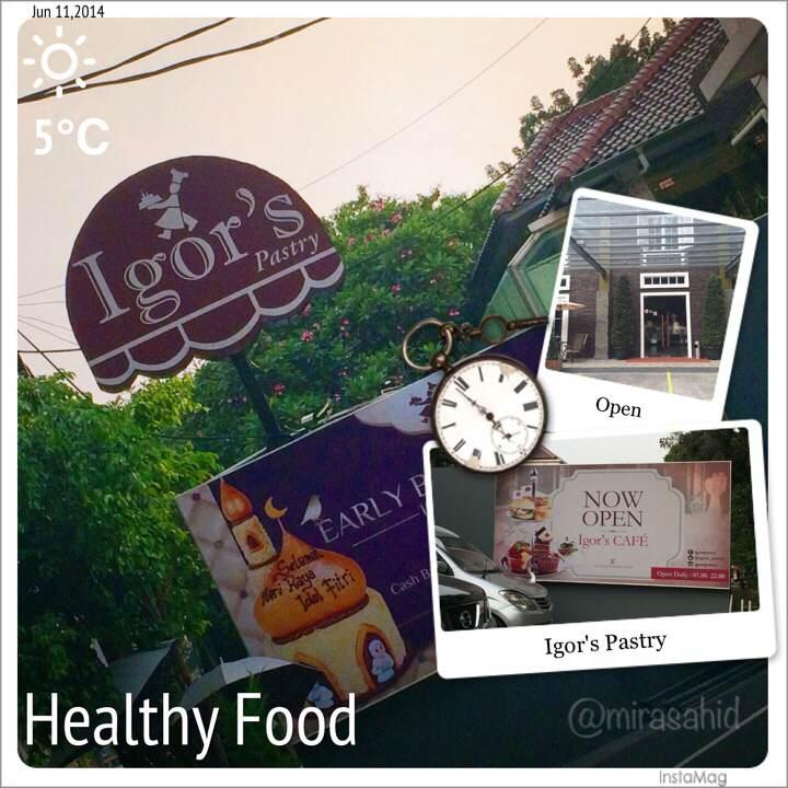 Igor's Pastry & Bakery (Jl. Wijaya 2 no 122)