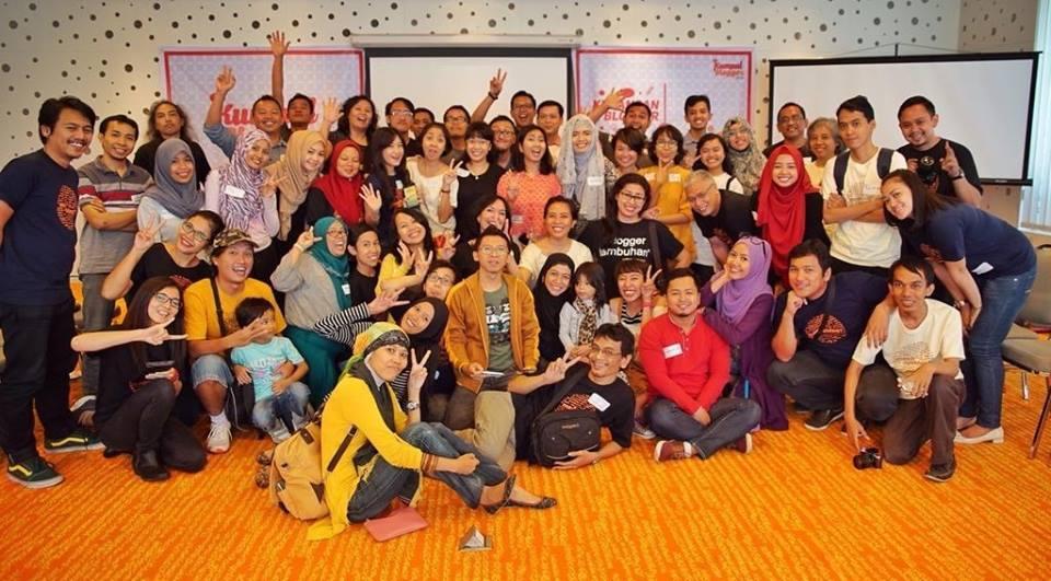 Kumpul Blogger di hari blogger nasional
